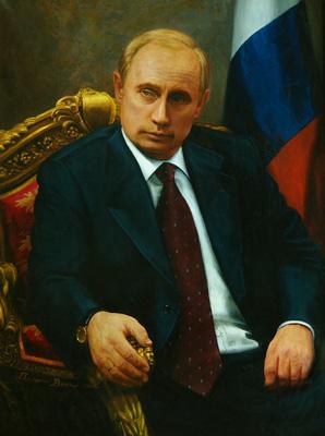 Портрет Путина в хорошем качестве
